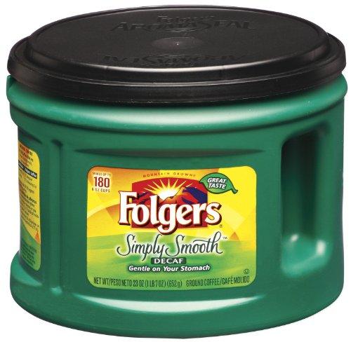 folgers simply smooth ground coffee  medium roast  23